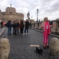 Chiara Pavoni tra gli artisti della maratona internazionale di Roma
