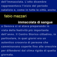 """Edizioni Leucotea insieme alla collana Project annuncia l'uscita in fooormato eBook del libro di Fabio Mazzari """"Immacolata di sangue"""""""