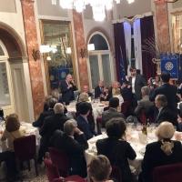 Il giornalista Ferruccio De Bortoli protagonista della Conviviale Interclub del Rotary dello scorso 2 aprile a Novara