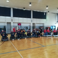 Wheelchair hockey: si chiude con un pareggio l'ultima partita in casa dei Red Cobra prima della trasferta laziale