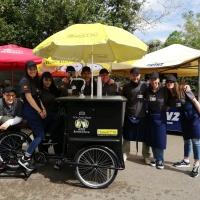 Il nuovo veicolo per lo street food ideato da Giovanni Kahn della Corte entra in commercio grazie la joint venture con la B Cargo Bike