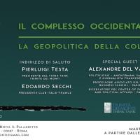 Alexandre Del Valle presenta 'Il complesso occidentale'