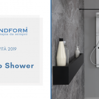 Novità 2019 Grandform: Colonna Doccia Techno E-Shower e Techno M-Shower