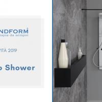 Novità 2019 Grandform: Colonna Doccia Techno E-Shower e Techno M-Shower