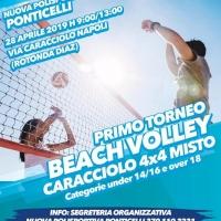"""""""Illuminiamo il Volley"""", la mission: promozionare lo sport come alternativa alla strada a Napoli"""