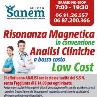 Check up Roma  - Gruppo Sanem 4 laboratori per la Prevenzione