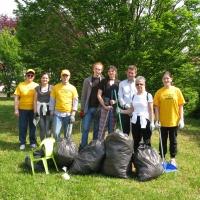 La collaborazione tra gli Scientologist e la comunità romena rimette a nuovo la zona di via Volt De Querini