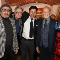 Grande successo per la mostra antologica su Dario Fo alla Milano Art Gallery con tanti ospiti vip