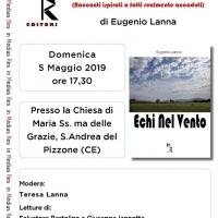 Alla Chiesa Vecchia di S.Andrea del Pizzone la presentazione del nuovo libro di Eugenio Lanna