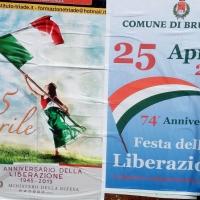 -Brusciano: Festa della Liberazione 74esimo Anniversario.  Manifesti istituzionali e testimonianze storiche.  (Scritto da Antonio Castaldo)
