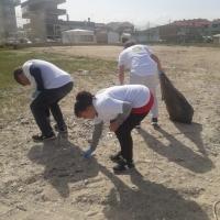 A CESANO volontari all'opera: raccolti due bei sacchi tra plastica e spazzatura sulla spiaggia libera!