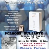 Giovanni Tommasini al Polmone Pulsante con il saggio