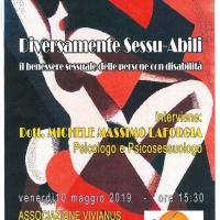 """Autismo e sessualità: Vivianus ne parla al convegno """"Diversamente Sessu-Abili"""""""