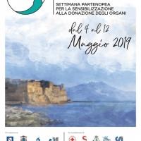 Dal 4 al 12 maggio la manifestazione partenopea che sensibilizza il pubblico al tema della donazione degli organi, Partenope Dona, manifestazione giunta alla terza edizione