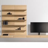 TEAM 7 presenta filigno living: sottilissimo legno naturale a schema libero