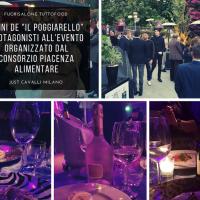 Fuorisalone TUTTOFOOD 'Il Poggiarello' Piacenza: Grande successo all'evento multisensoriale organizzato a Milano
