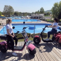Terme Catez: tutti in e-bike ed e-scooter all'insegna dell'ecoturismo