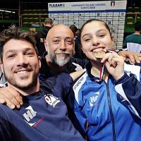La casentinese Liguri vince il bronzo ai Campionati Italiani di karate