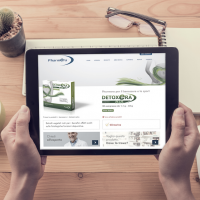 Pubblimarket2 firma il nuovo sito di Pharmera
