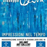 Mostra personale del pittore ragusano Giuseppe Oliva alla Milano Art Gallery