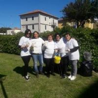 """Volontari impegnati in pulizie di """"primavera"""" alla Rocca Roveresca di Senigallia"""