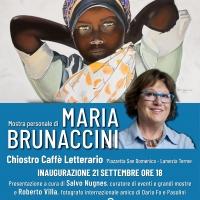 L'artista Maria Brunaccini tra Neofigurativo e Neoclassicismo all'antico chiostro di San Domenico