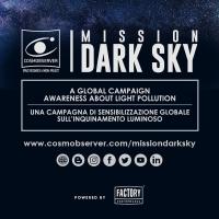 Il divulgatore Emmanuele Macaluso annuncia la partenza di MISSION DARK SKY, la  Campagna sull'inquinamento luminoso di COSMOBSERVER