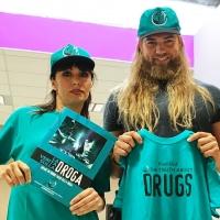 """Lasse Matberg e Sara Di Vaira aderiscono alla campagna """"La Verità sulla Droga"""""""