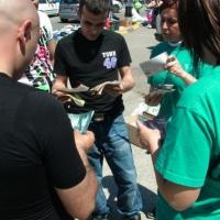 Volontari continuano a fare prevenzione a Selargius