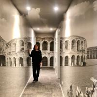 Carta da parati per regalare un'esperienza immersiva:  nuovo concept per Maurizio Marcato