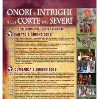 """Chiara Pavoni a """"Onori e intrighi alla Corte dei Severi"""