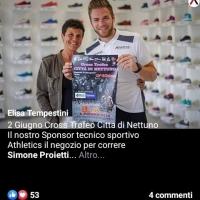 Elisa Tempestini: E' tutto pronto per il Cross Trofeo Città di Nettuno del 2 giugno