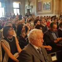 Tutti innamorati di Alberoni e della nuova mostra di Spoleto Arte a Villa Rezzonico