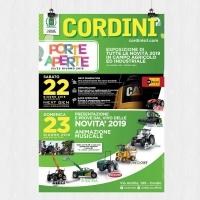 """Macchine agricole, a giugno si rinnova l'appuntamento con """"Cordini Porte Aperte"""""""
