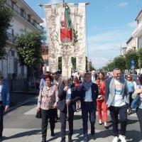 -Brusciano: Amministrazione Comunale, cittadini e rappresentanti politici insieme per la Festa della Repubblica. (Scritto da Antonio Castaldo)