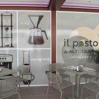 Il Posto di Altogusto a Sassari, fucina di idee con i caffè di Milani