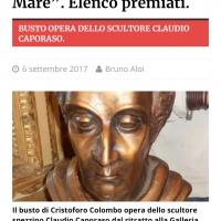 29 giugno a Milano Caporaso dona la Gaviota alla Repubblica Dominicana