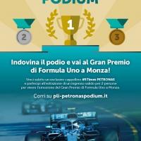 Al gran premio di Formula Uno di Monza con il concorso Petronas Podium 2.0