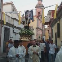 Brusciano Grande partecipazione alla Solennità di Sant'Antonio di Padova con il Vescovo S. E. Mons. Marino.  (Scritto da Antonio Castaldo)