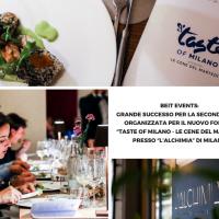 """BEIT Events: Grande successo per la seconda data organizzata per il nuovo format """"Taste of Milano - le cene del martedi'' presso """"L'Alchimia"""" di Milano"""