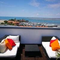 """A Grado nuovo appuntamento con i """"Laguna AperiSky"""", gli aperitivi sul rooftop vista mare del Laguna Palace Hotel"""
