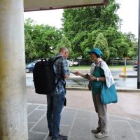 I volontari tornano in Stazione a Vicenza per prevenire le droghe