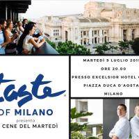 """BEIT Events presenta """"Rooftop Summer Party"""" presso Il Gallia di Milano: Da non perdere la terza data organizzata per il nuovo format """"Taste of Milano - Le cene del martedi''"""