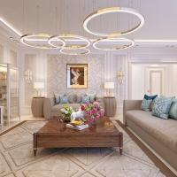 Nuovo progetto in Kazakhistan: Francesco Pasi firma l'area giorno di un luxury apartment