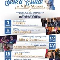 SERE D'ESTATE : Rassegna di Musica e Spettacolo a Villa Scassi                                  dal 5 al 20 luglio