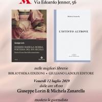 'Dossier Isabella Morra' e 'L'istinto altrove' da Mondadori Store Jenner
