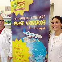 """""""Buon viaggio!"""": consigli per le vacanze nelle Farmacie Comunali"""
