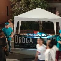A Oste di Montemurlo i volontari di Scientology informano i cittadini sui pericoli delle droghe