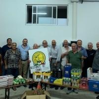 Donazione di generi alimentari alla mensa cittadina: la solidarietà di Federcaccia Cori