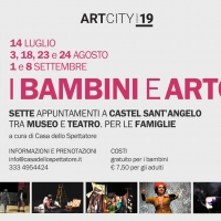 """Casa dello Spettatore anche quest'anno curerà il progetto """"I Bambini e Art City 2019"""":  alla scoperta del Museo Nazionale di Castel Sant'Angelo."""